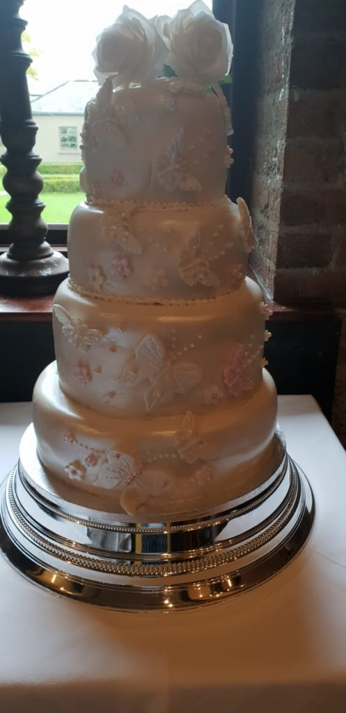 Karen and Micheal's Wedding Cake