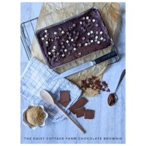 The Daisy Cottage Farm Chocolate Brownie